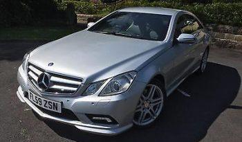 2009 (59) Mercedes-Benz E350 cdi Sport Coupe full